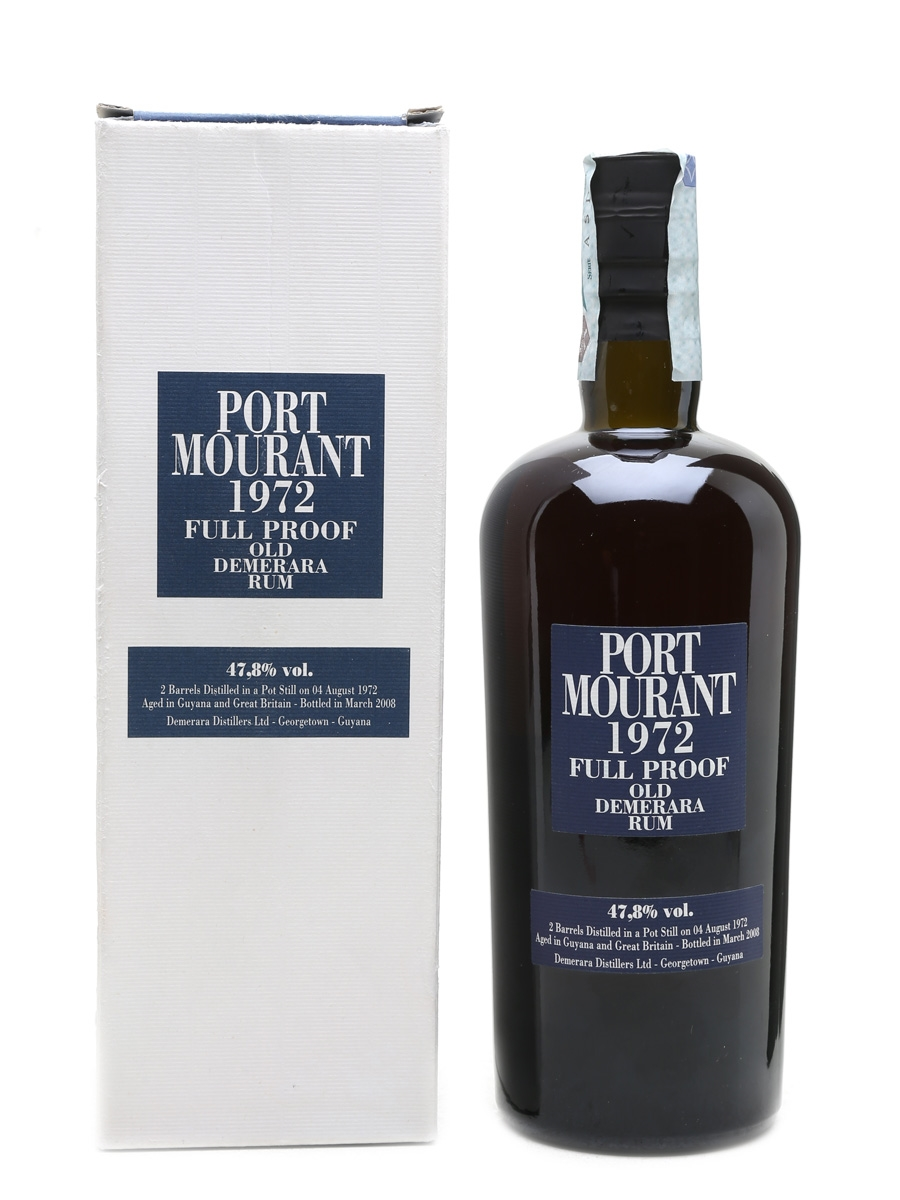 Port Mourant 1972 Old Demerara Rum 36 Year Old - Velier 70cl / 47.8%