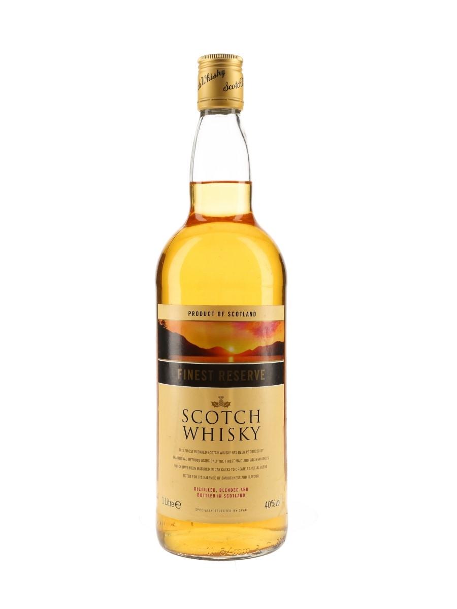 Spar Finest Reserve Scotch Whisky  100cl / 40%
