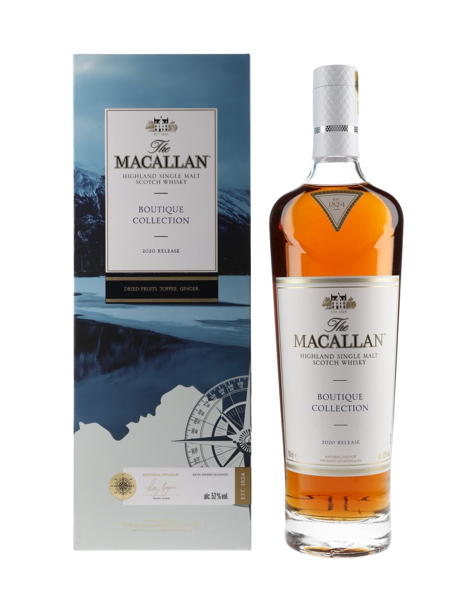 Macallan Boutique Collection 2020 Release - Vermilion Lakes 70cl / 52%