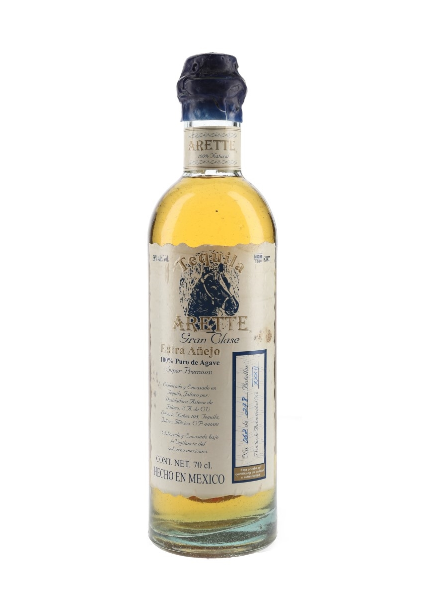 Arette Tequila Gran Clase Extra Anejo  70cl / 38%