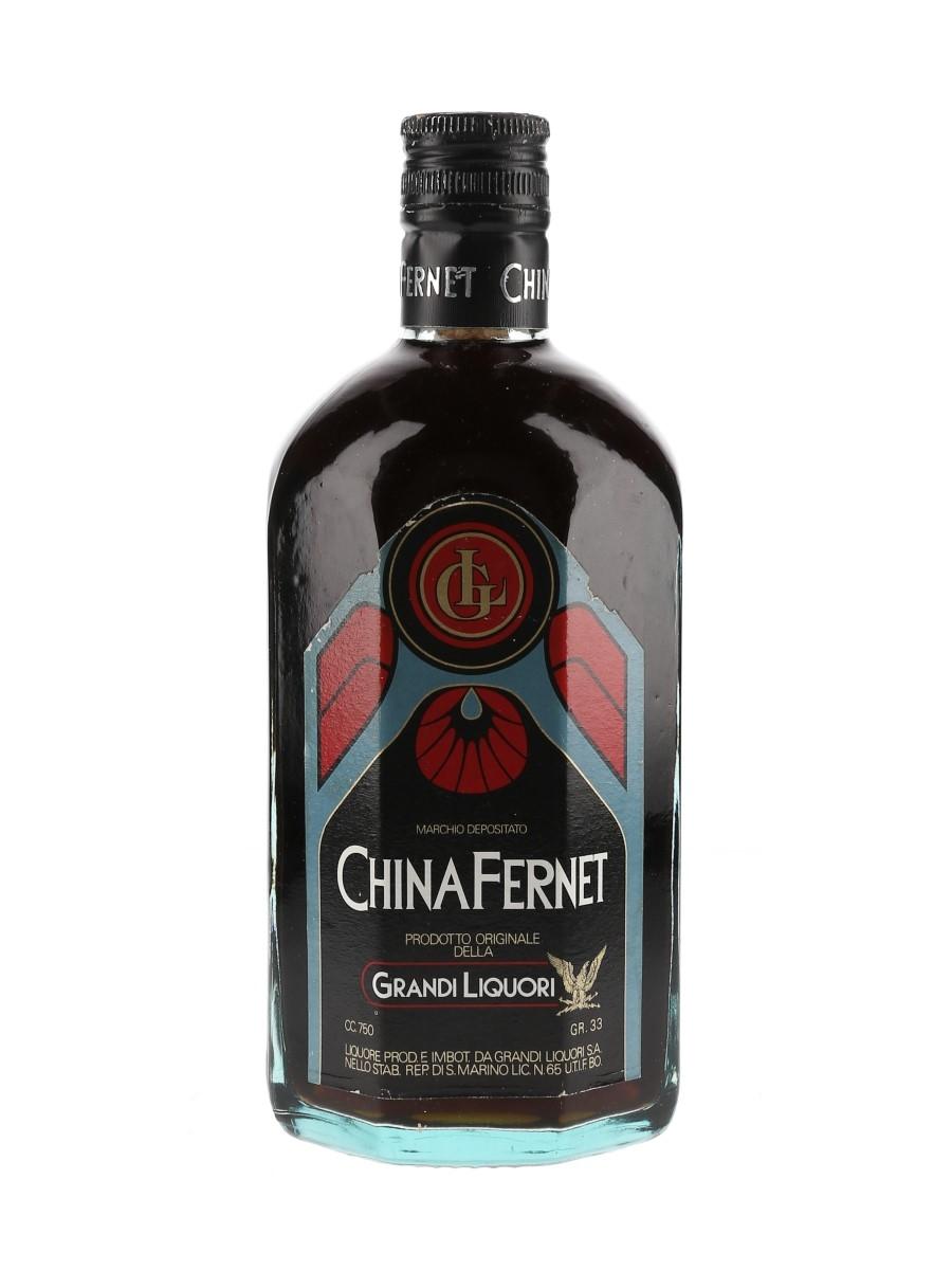 Grandi Liquori China Fernet Bottled 1980s 75cl / 33%