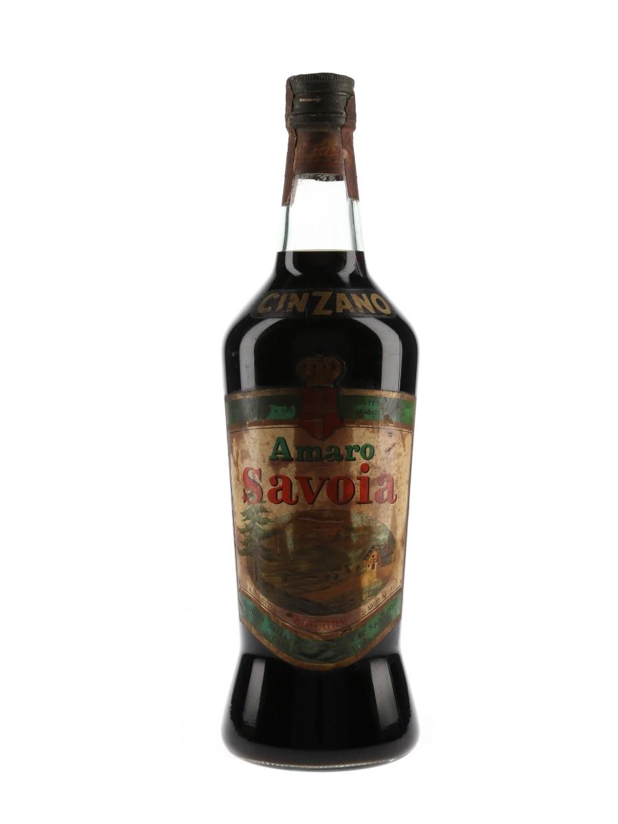 Cinzano Amaro Savoia Bottled 1960s 100cl / 34%