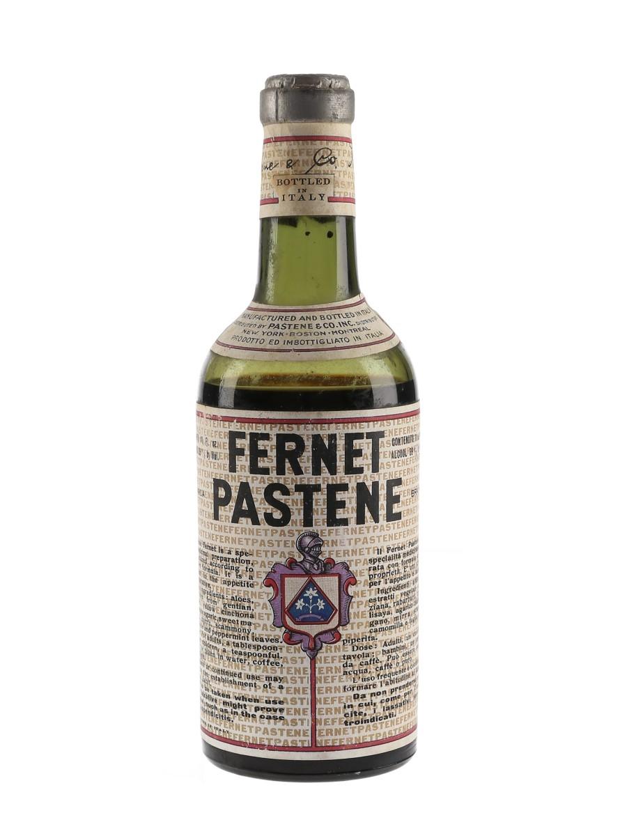 Fernet Pastene Bottled 1940s-1950s 32.5cl / 39%
