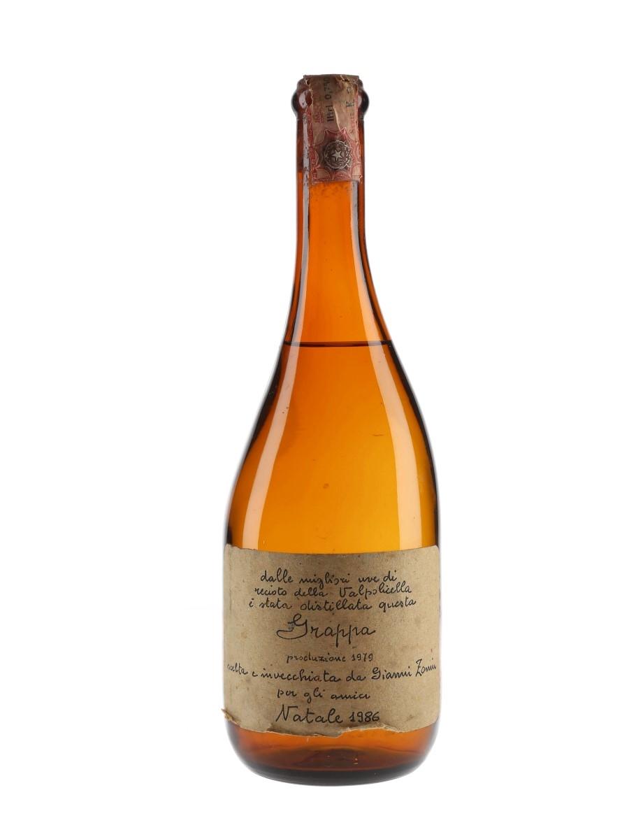 Gianni Zonin 1979 Grappa Bottled 1986 75cl