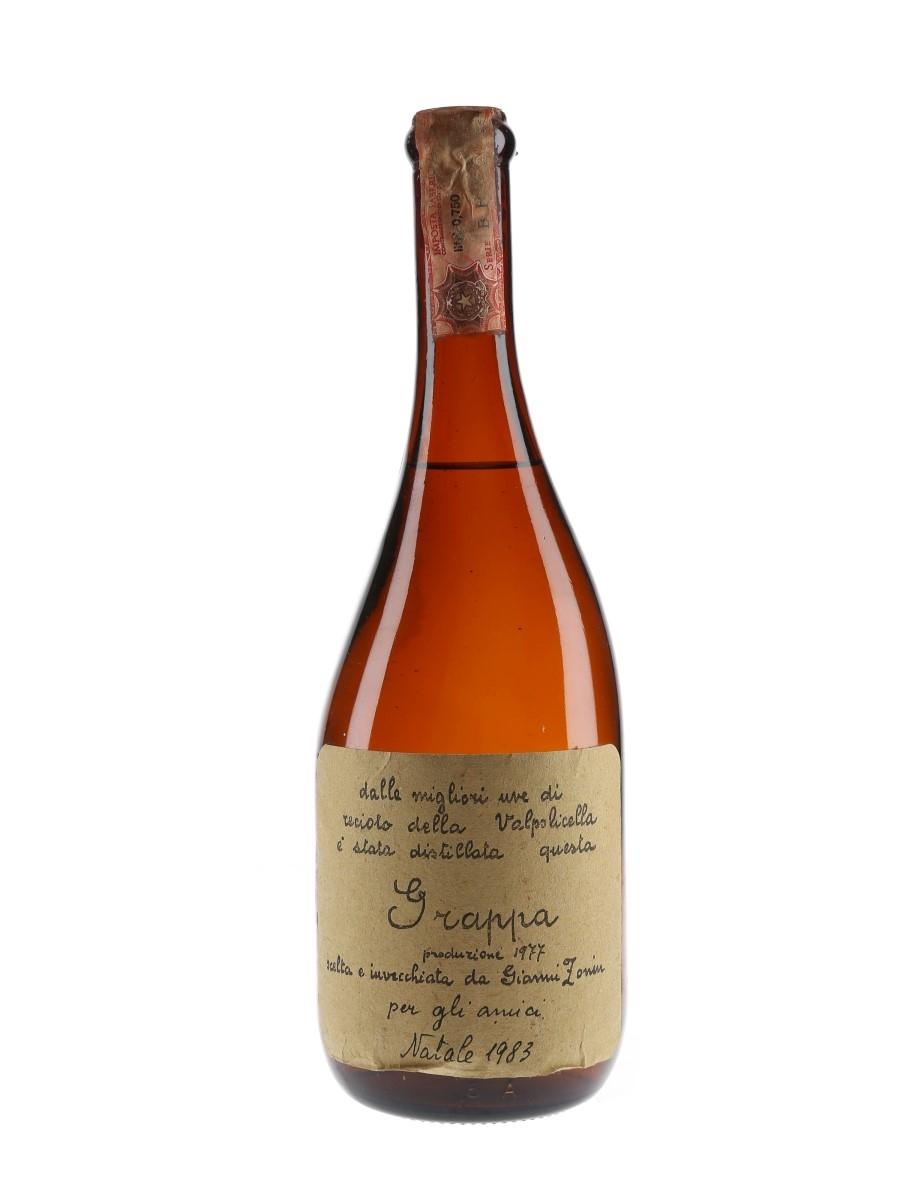 Gianni Zonin 1977 Grappa Bottled 1983 75cl