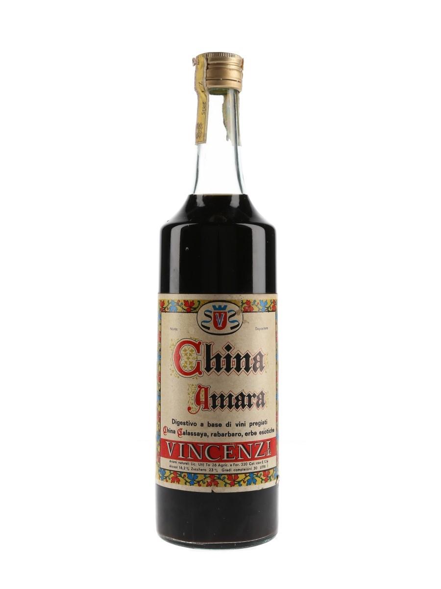 Vincenzi China Amara Bottled 1960s 100cl / 16.2%