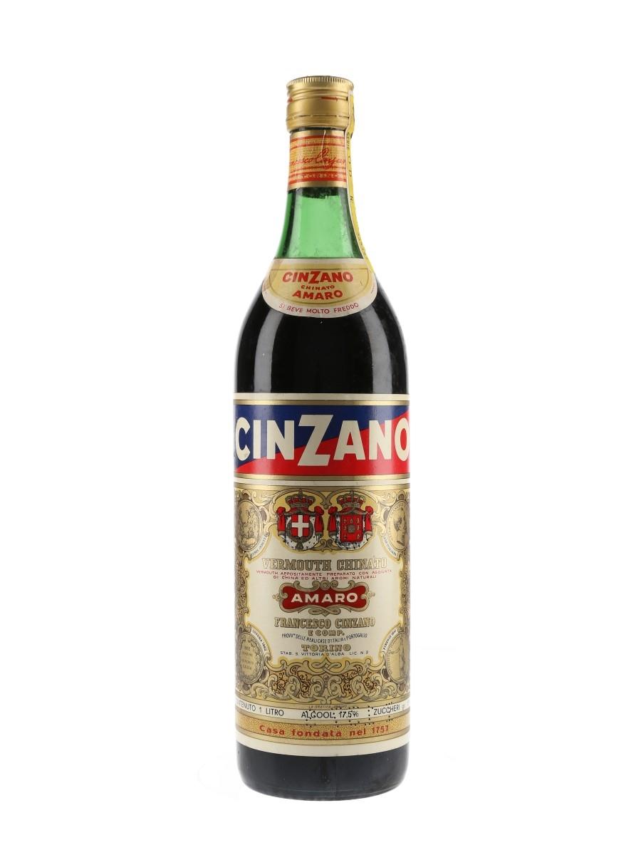 Cinzano Chinato Amaro Vermouth Bottled 1970s 100cl / 17.5%