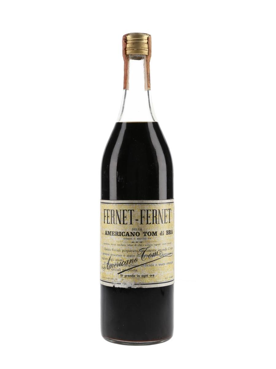 Fernet Fernet Americano Tom Di Bra Bottled 1970s 100cl / 40%