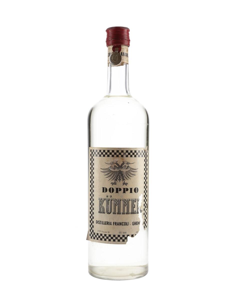 Doppio Kummel Bottled 1960s 100cl / 40%