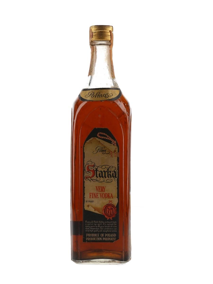 Starka Very Fine Vodka Bottled 1960s - Rinaldi 75cl / 50%