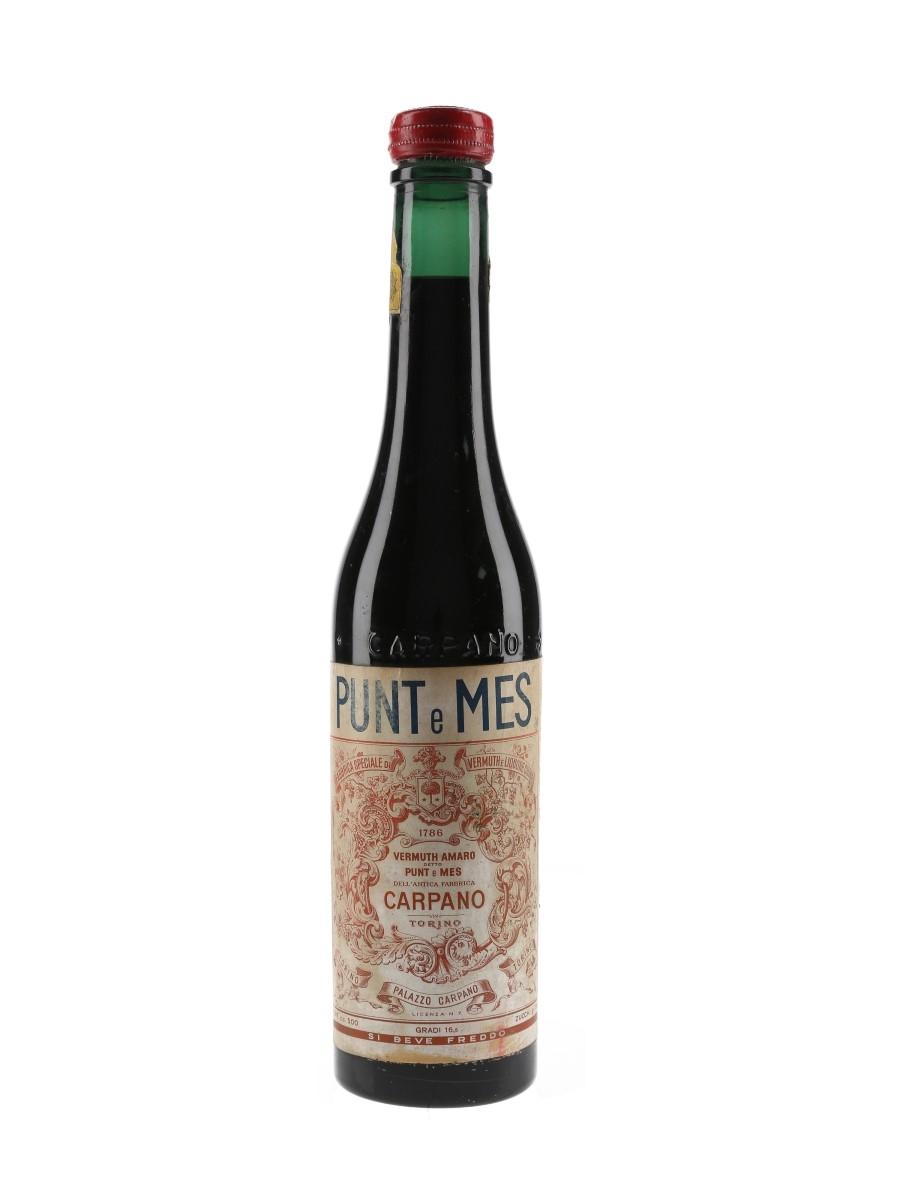 Carpano Punt E Mes Bottled 1960s 50cl / 16.5%
