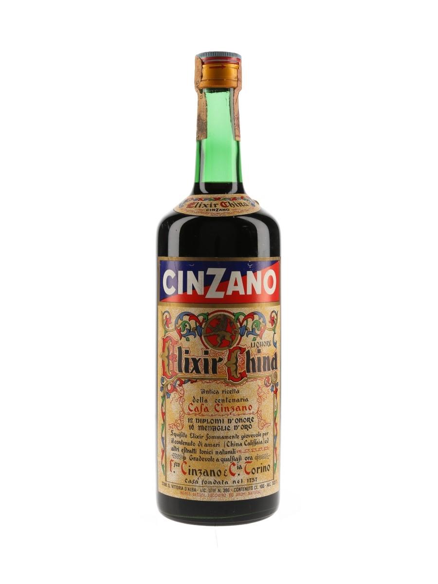 Cinzano Elixir China Bottled 1970s 100cl / 30.5%