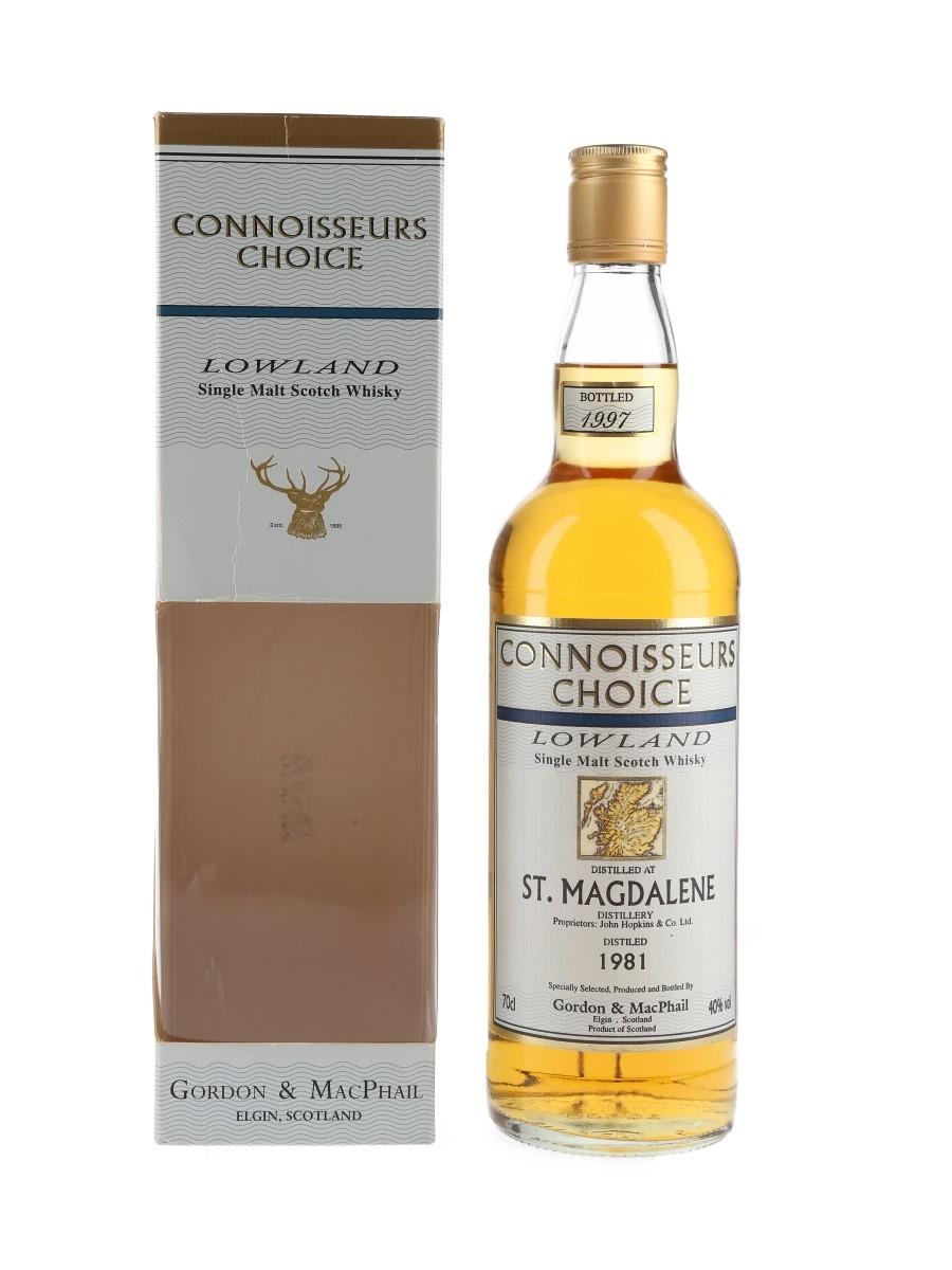 St Magdalene 1981 Bottled 1997 - Gordon & MacPhail 70cl / 40%
