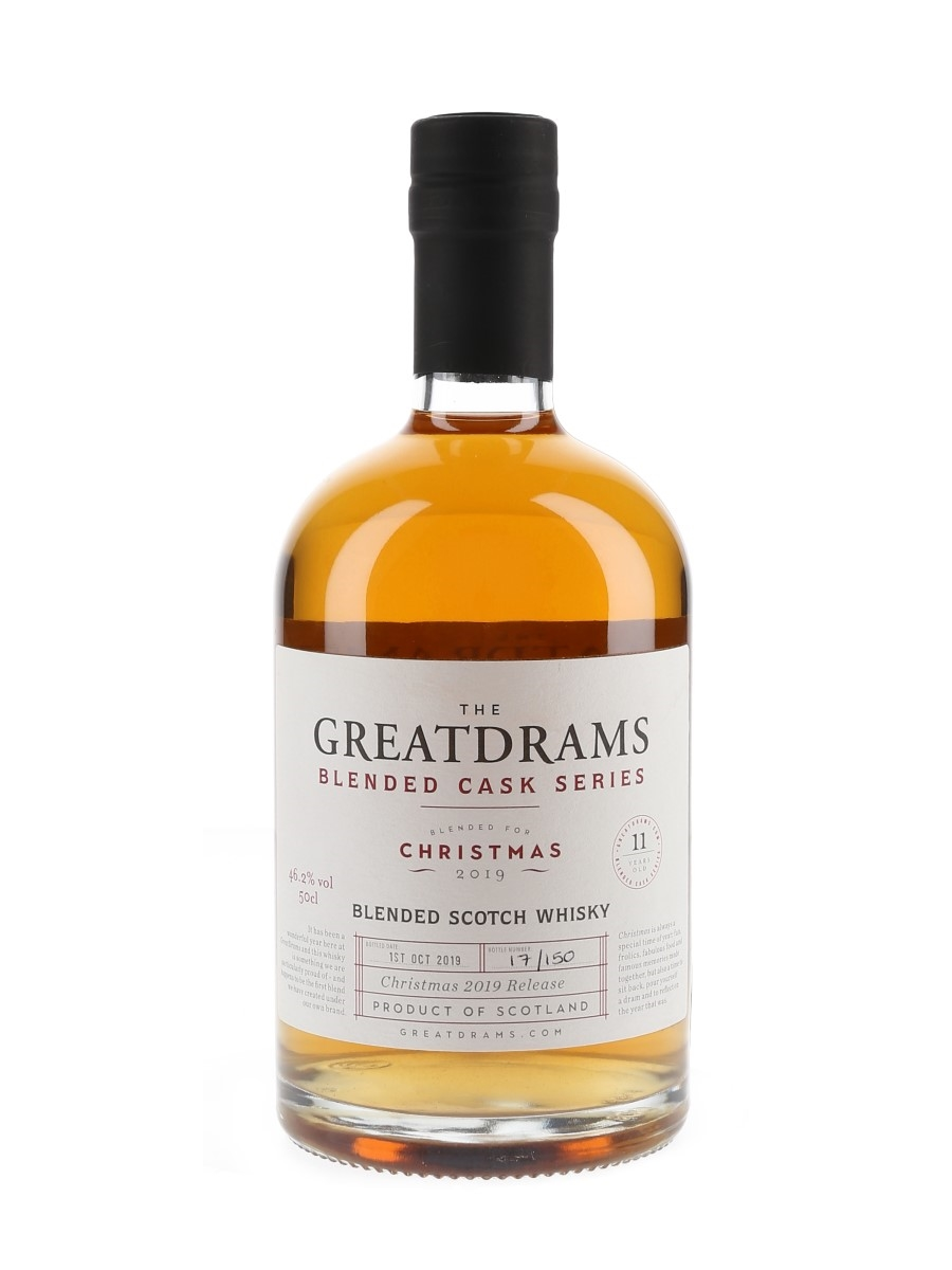 Greatdrams Christmas Release 11 Year Old Bottled 2019 50cl / 46.2%