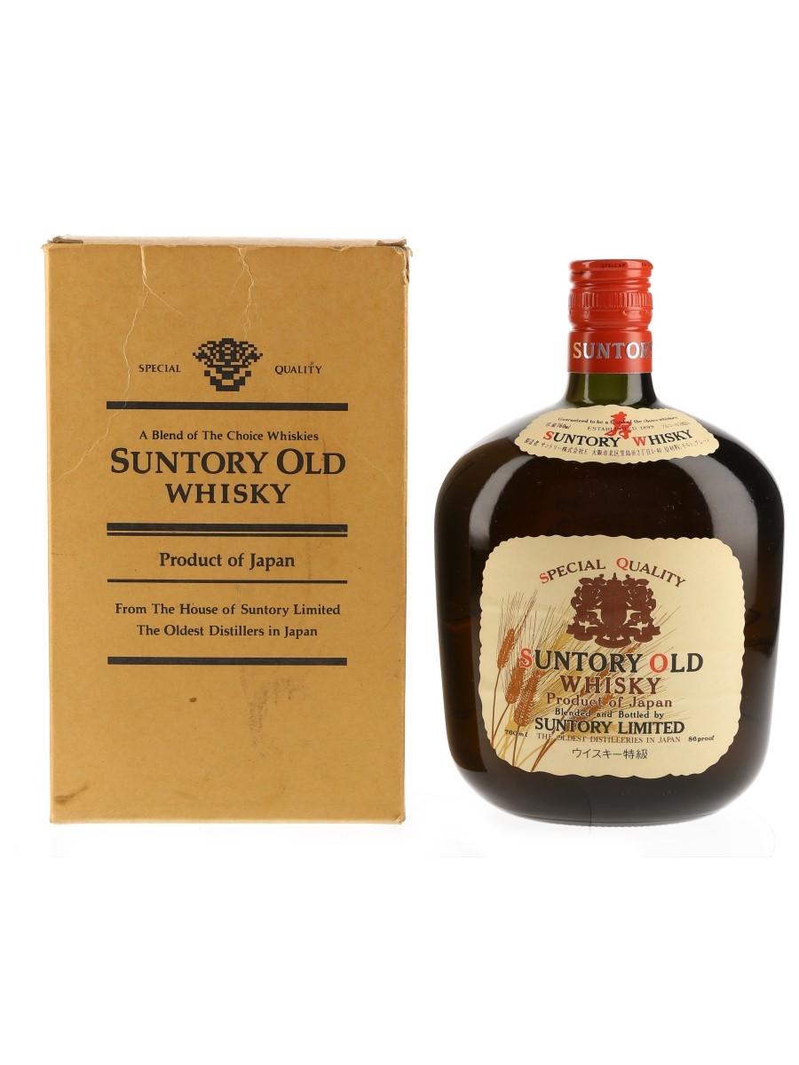 Suntory Old Whisky Bottled 1980s 76cl / 43%