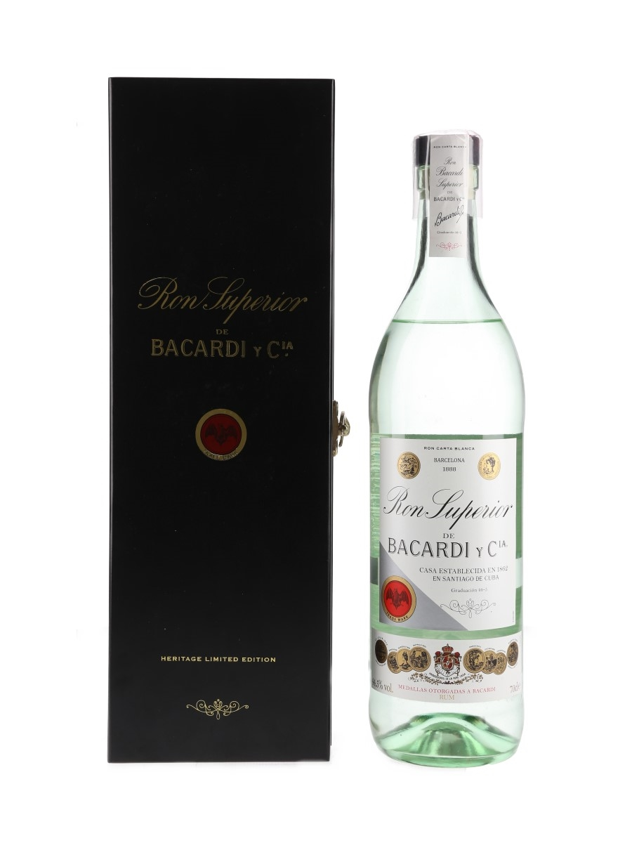 Bacardi Superior Rum Heritage Limited Edition 70cl / 44.5%