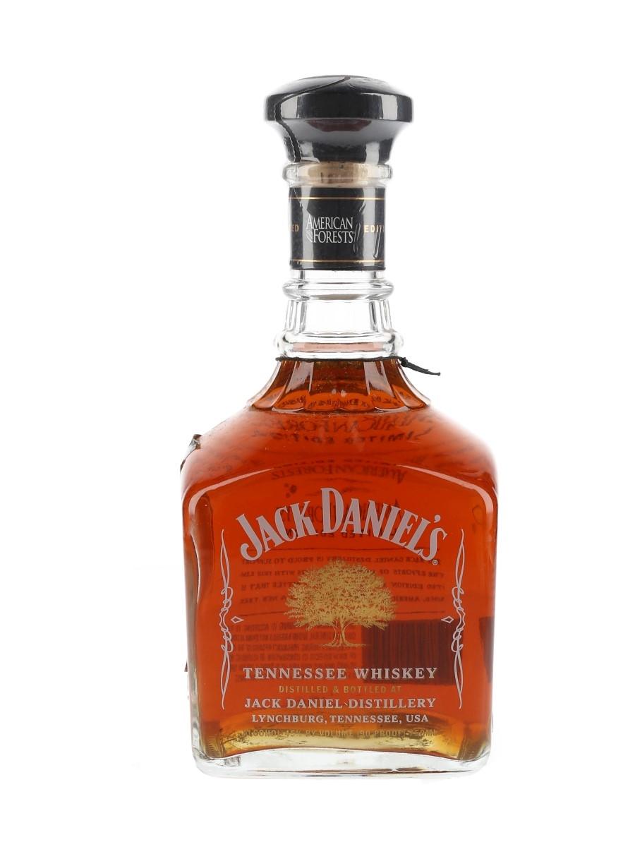 Jack Daniel's American Forests White Rabbit Bottle Shop - Signed Bottle 75cl / 45%