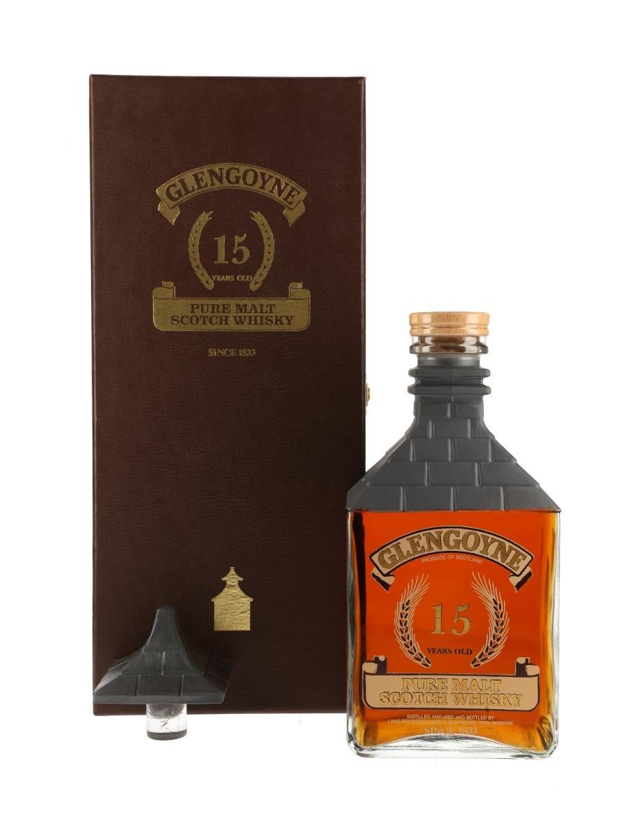 Glengoyne 15 Year Old Kiln Decanter Bottled 1980s 100cl / 43%