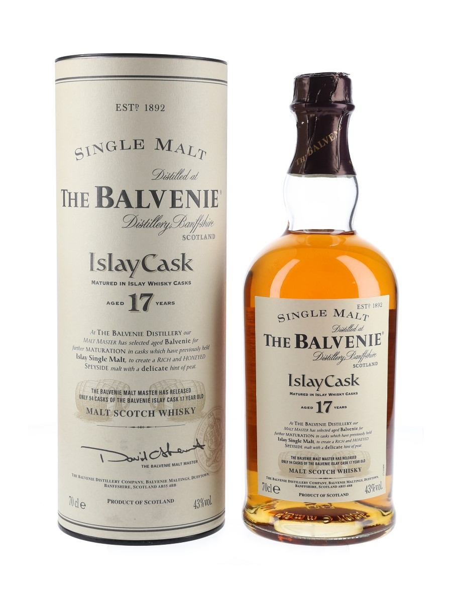 Balvenie 17 Year Old Islay Cask  70cl / 43%