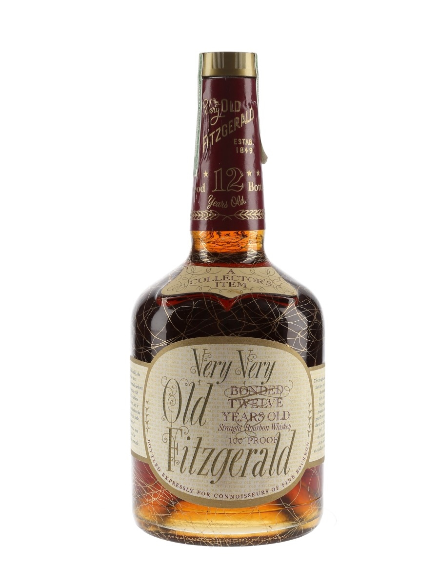Very Very Old Fitzgerald 12 Year Old Bottled 1980s - Stitzel-Weller 75cl / 50%