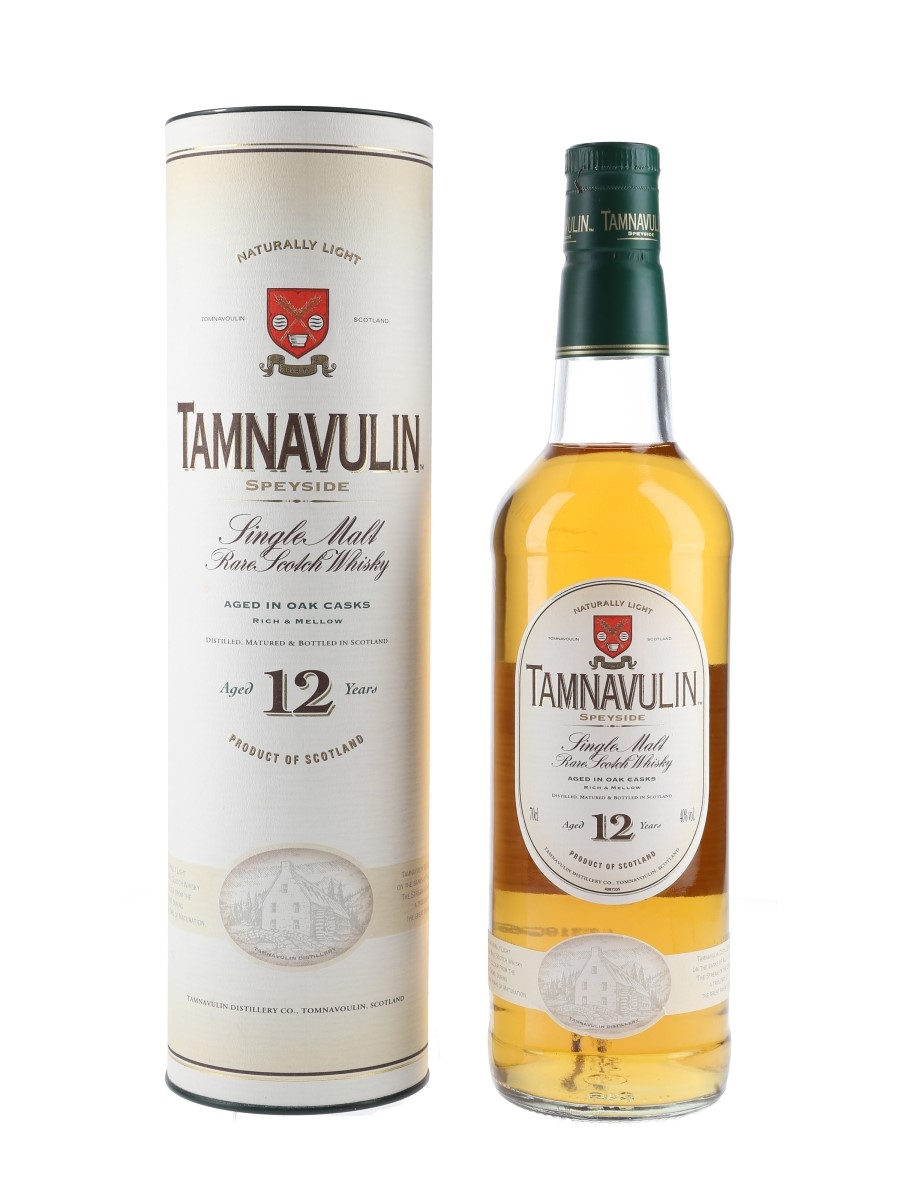 Tamnavulin 12 Year Old Old Presentation 70cl / 40%