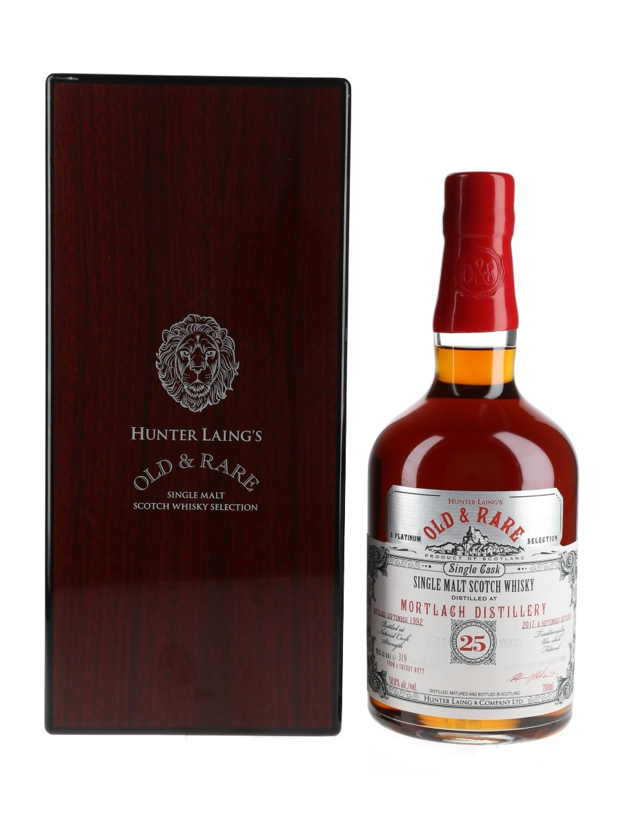 Mortlach 1992 25 Year Old Old & Rare Platinum Selection 70cl / 58.8%