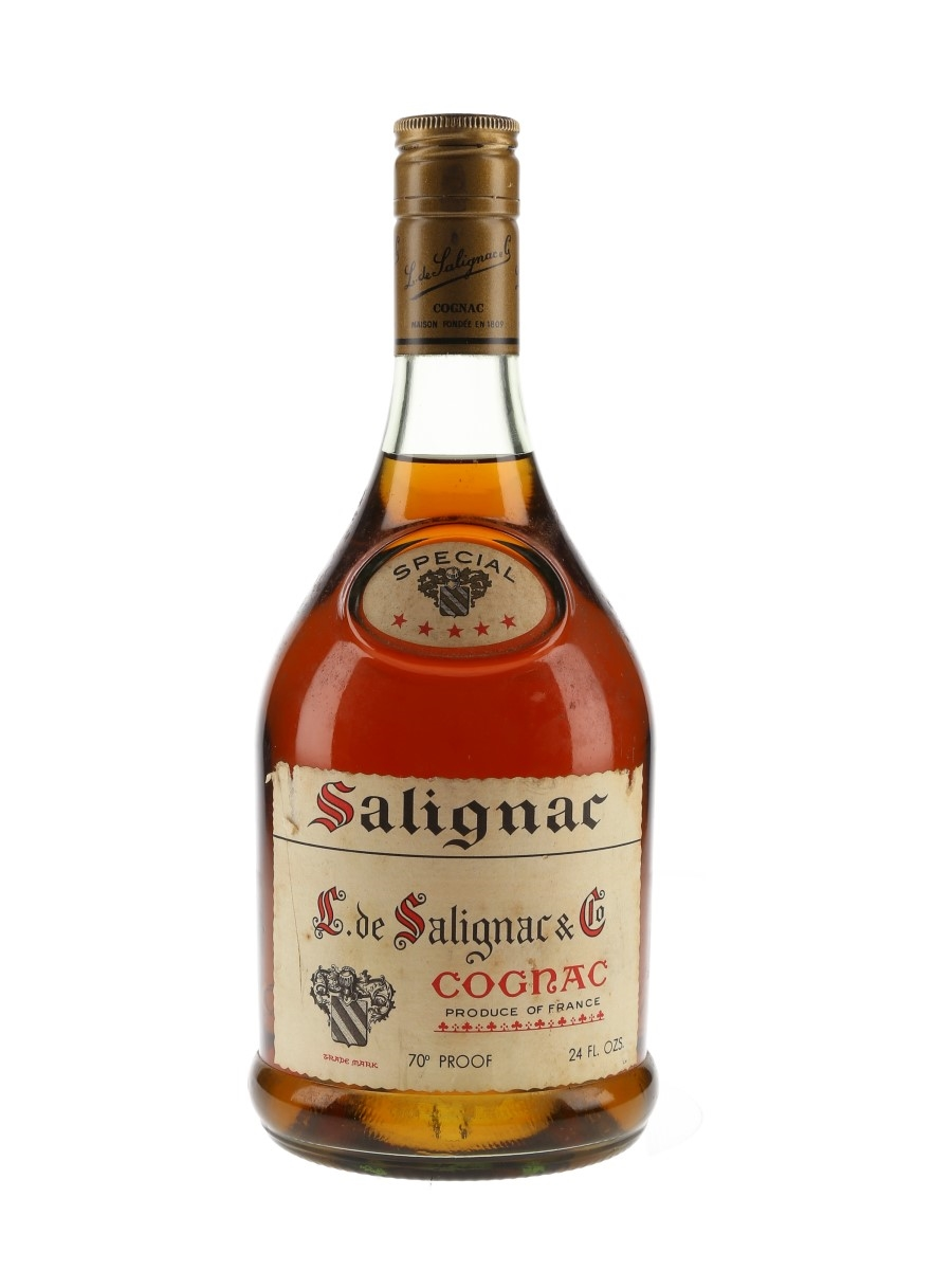 Salignac 5 Star Bottled 1970s 68cl / 40%