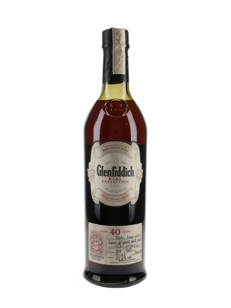 Glenfiddich 40 Year Old Rare Collection Bottled 2000 70cl / 43.6%