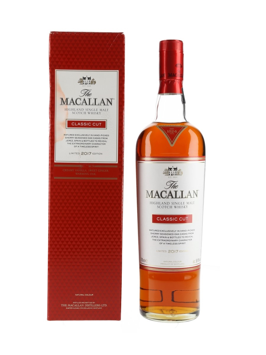 Macallan Classic Cut Limited 2017 Edition 70cl / 58.4%