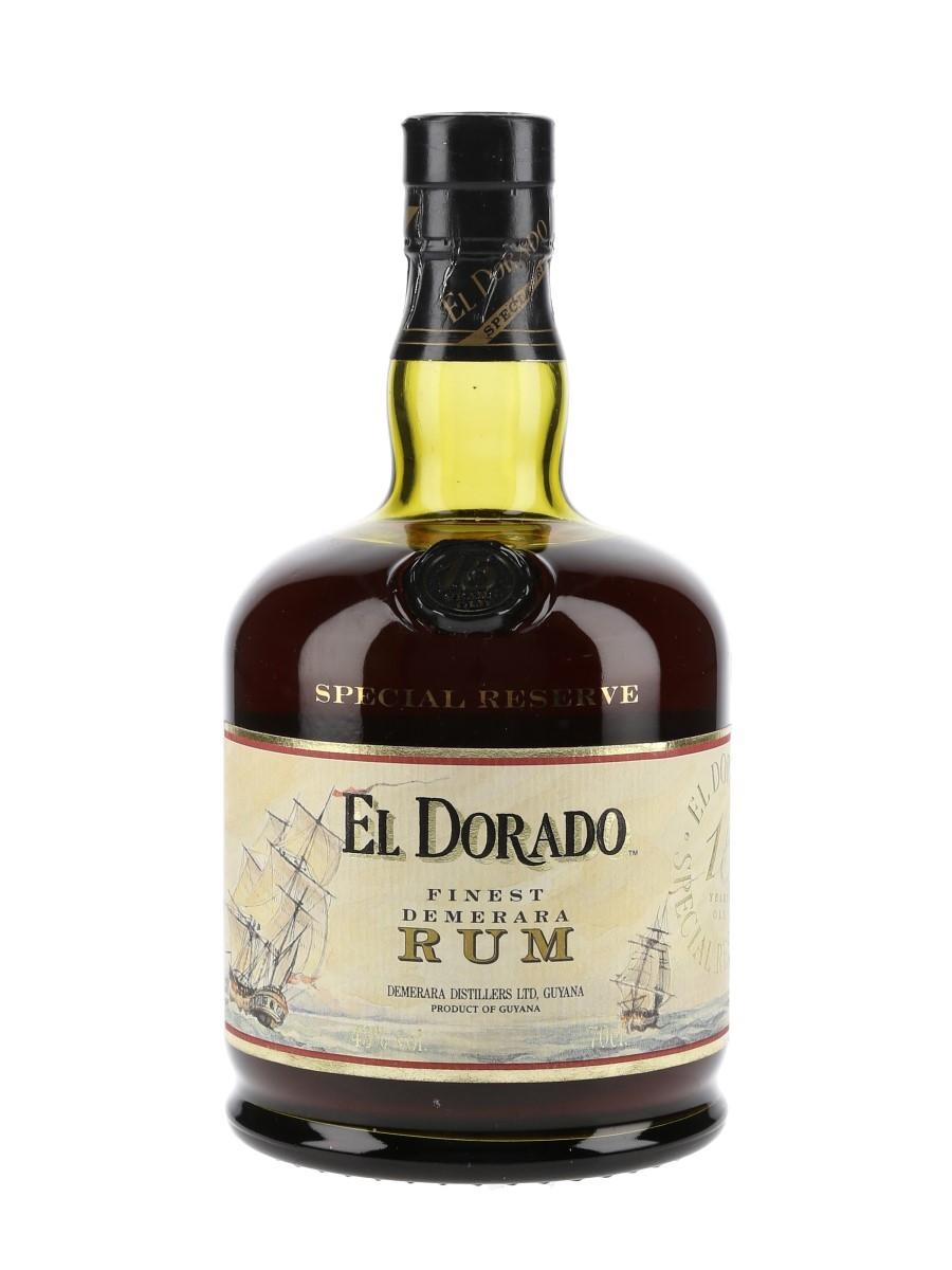 El Dorado 15 Year Old Special Reserve Finest Demerara Rum 70cl / 43%