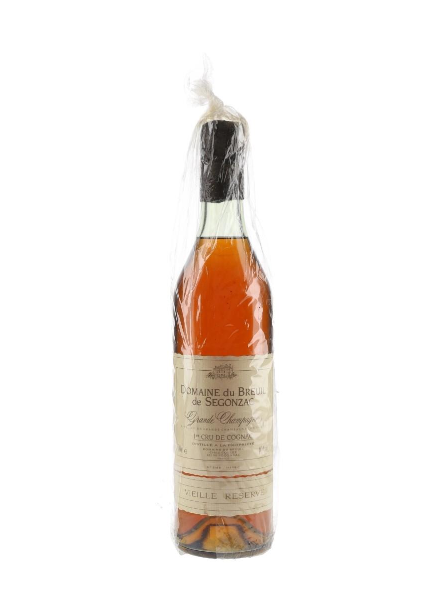 Domaine Du Breuil De Segonzac Grande Champagne Vieille Reserve Cognac  70cl / 40%
