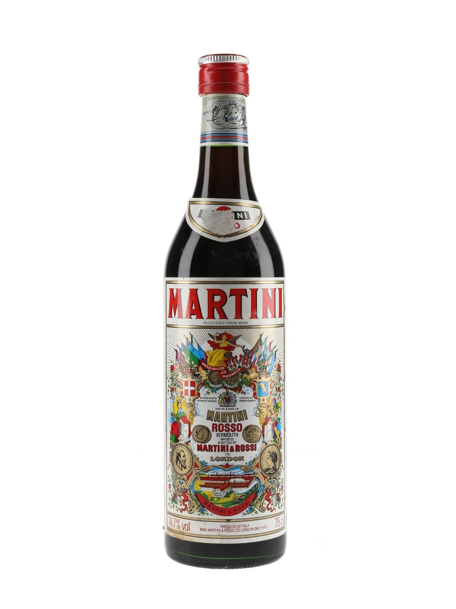 Martini Rosso Vermouth Bottled 1980s 75cl / 14.7%