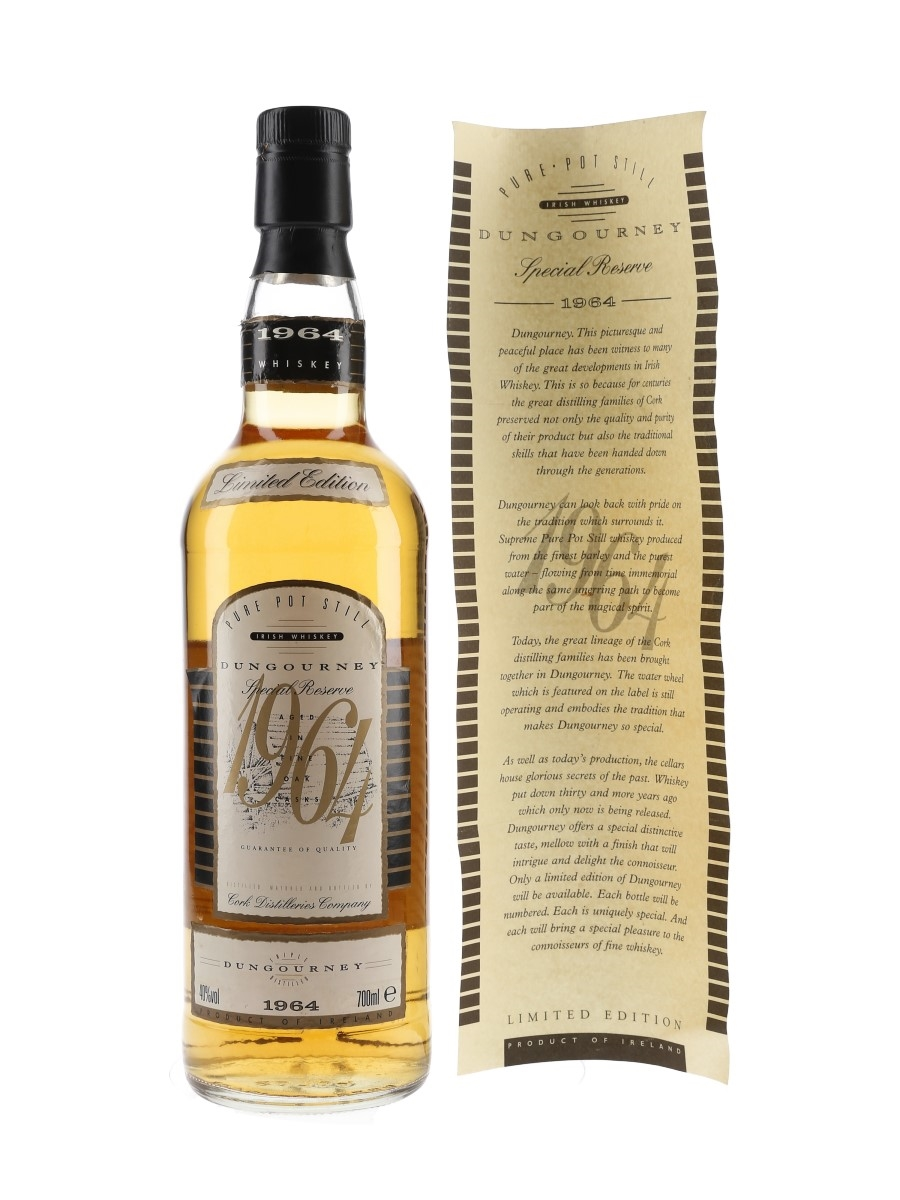 Dungourney 1964 Special Reserve Bottled 1994 70cl / 40%