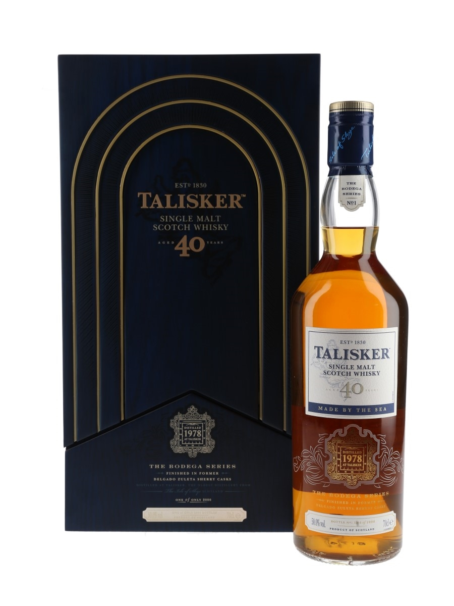 Talisker 1978 40 Year Old Bodega Series No.1 70cl / 50%