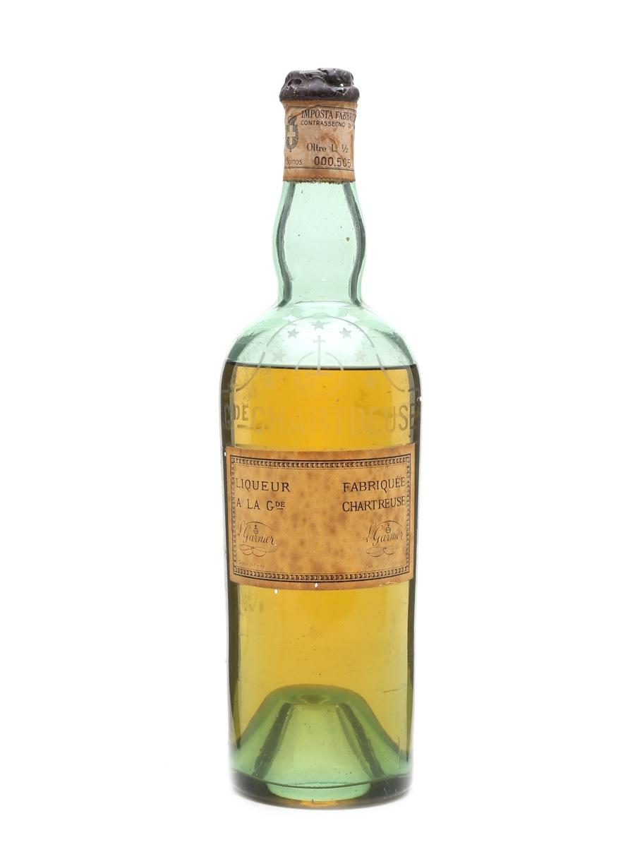 Chartreuse Yellow Liqueur Bottled 1930s 75cl / 43%