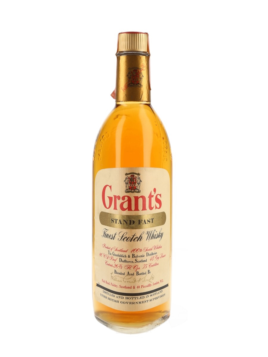 Grant's Standfast Bottled 1960s 75cl / 43%