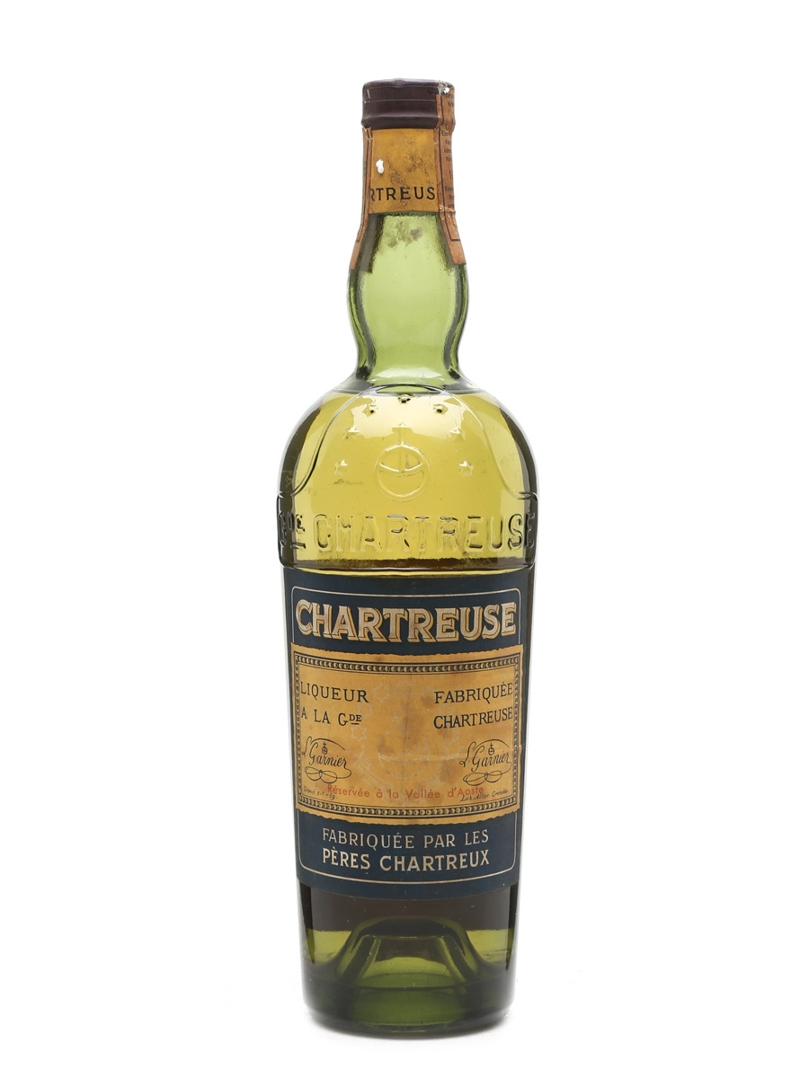 Chartreuse Yellow Liqueur Bottled 1961 70cl / 43%