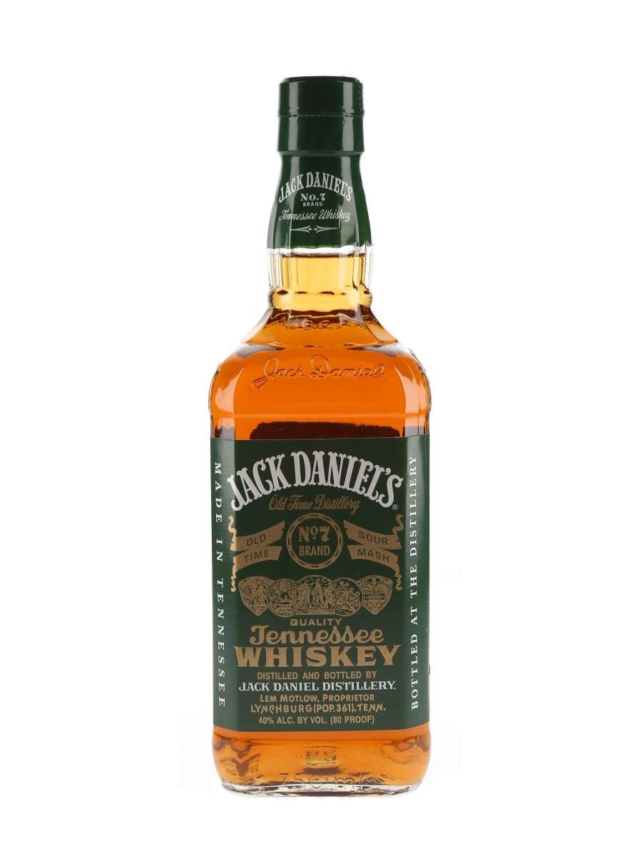 Jack Daniel's No.7 Green Label Bottled 2000s 75cl / 40%