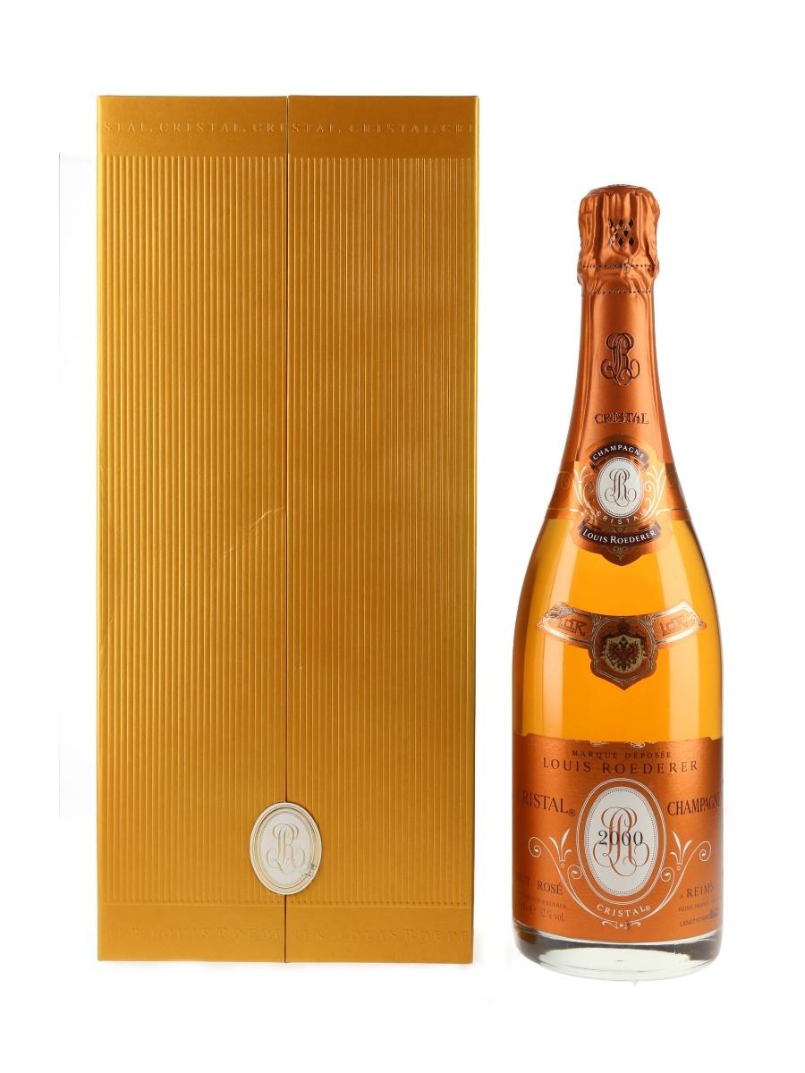 Louis Roederer Cristal Rose 2000  75cl / 12%