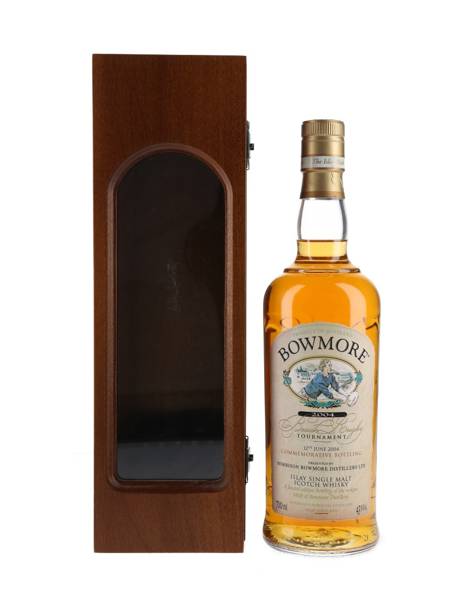 Bowmore Beach Rugby 2004 Commemorative Bottling 70cl / 43%