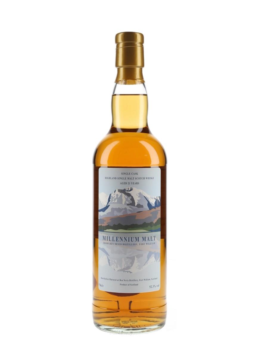 Ben Nevis 1999 21 Year Old Millennium Malt Cask 906 Private Cask Bottling 70cl / 52.3%