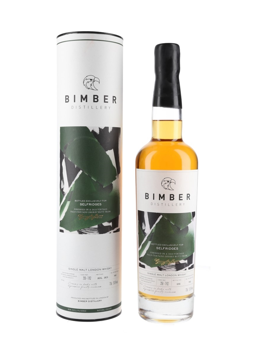 Bimber Palo Cortado Sherry Butt Finish Bottled 2021 - Selfridges Exclusive 70cl / 51.5%
