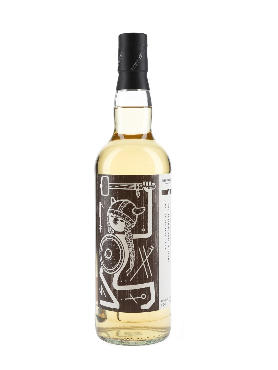 Distilled On Orkney 2011 10 Year Old Thompson Bros 70cl / 54%