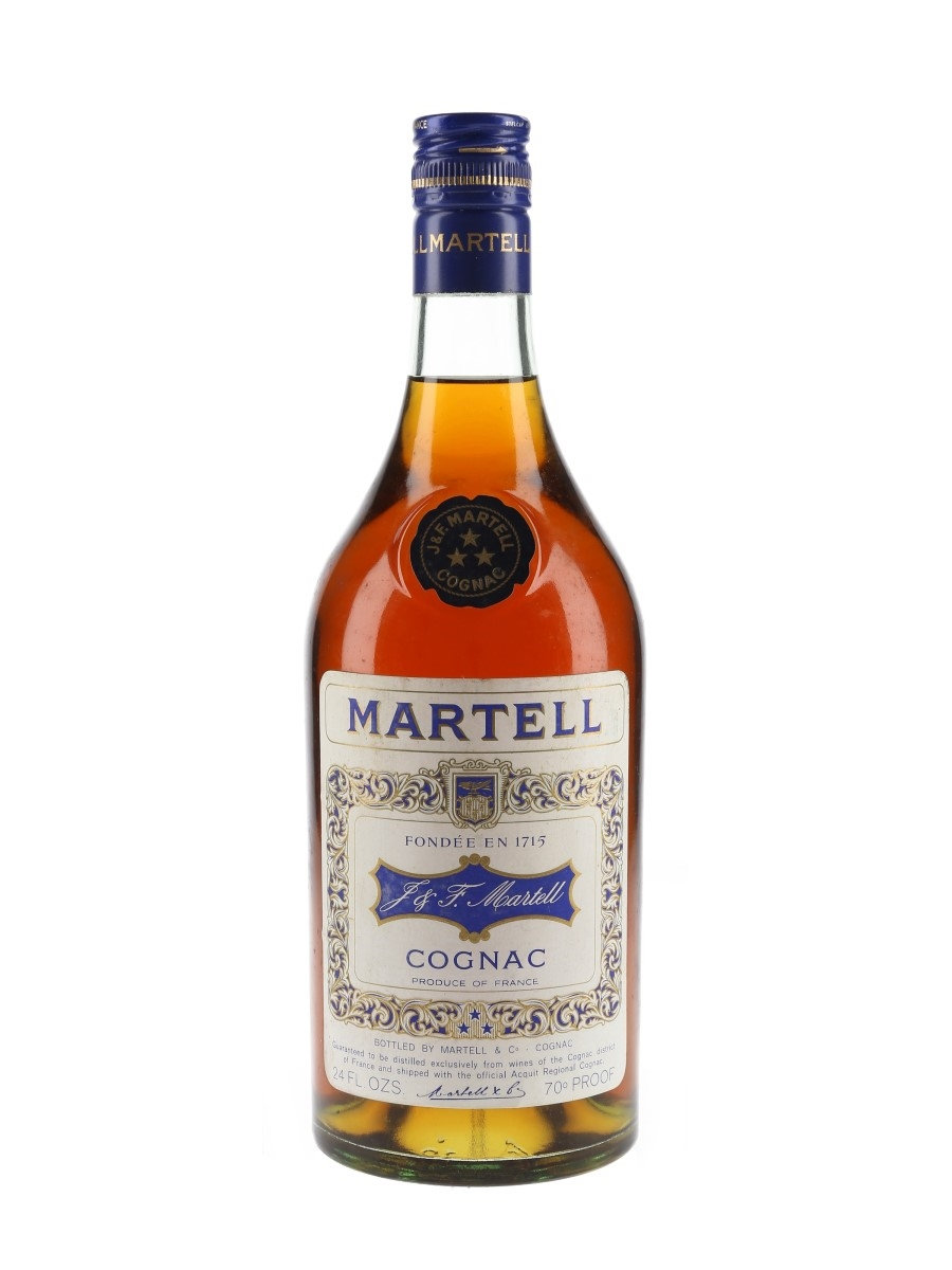 Martell 3 Star VS Bottled 1970s 68cl / 40%