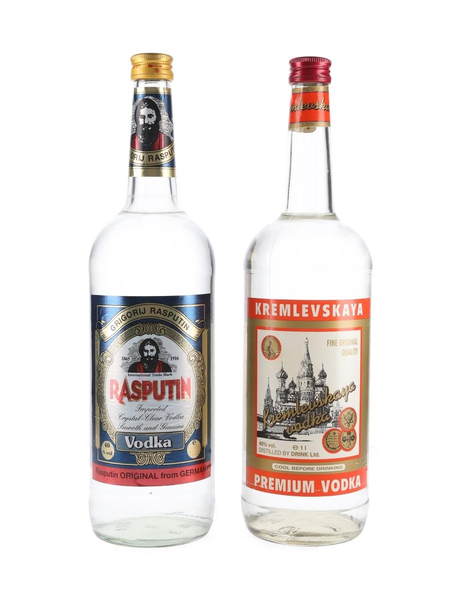 Kremlevskaya & Rasputin Vodka  2 x 100cl / 40%