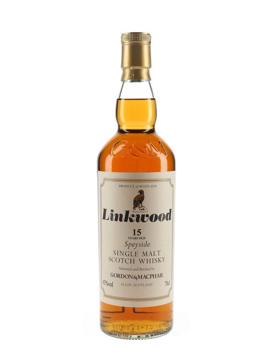 Linkwood 15 Year Old Bottled 2012 - Gordon & MacPhail 70cl / 43%