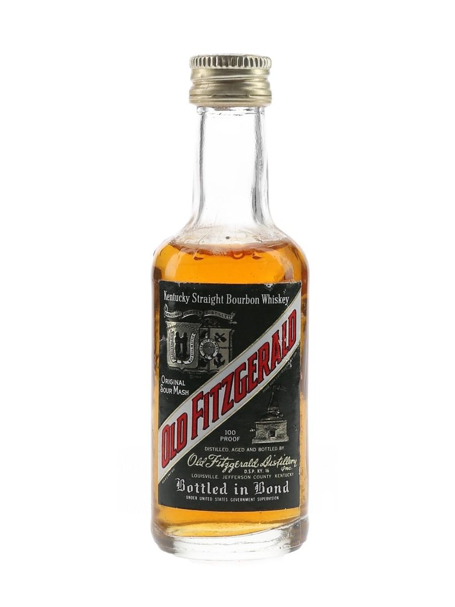 Old Fitzgerald 100 Proof Bottled 1970s 4.7cl / 50%