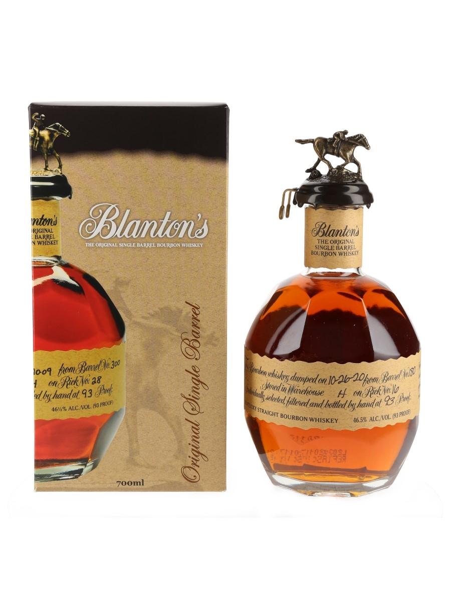 Blanton's Original Single Barrel No. 180 Bottled 2020 70cl / 46.5%