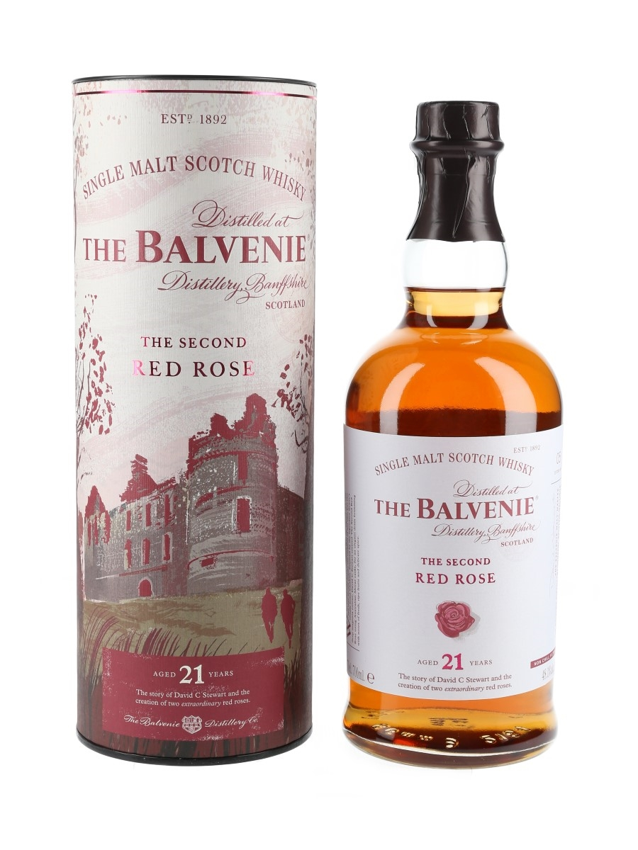 Balvenie 21 Year Old The Second Red Rose The Balvenie Stories - Story No.5 70cl / 48.1%