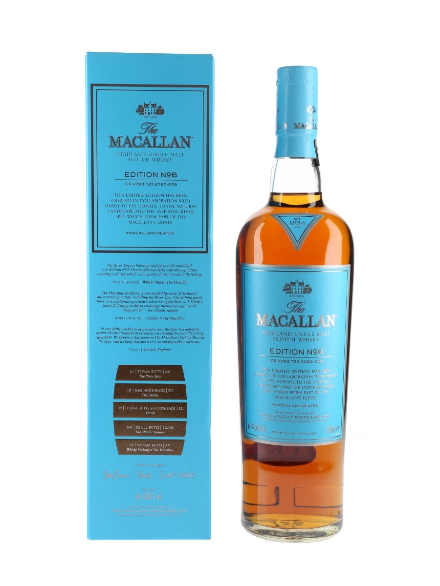 Macallan Edition No.6  70cl / 48.6%